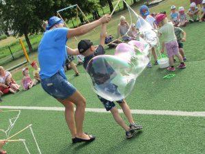 Burbuliuojame
